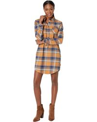 United By Blue - Moraine Flannel Dress (navy) Women's Dress - Lyst