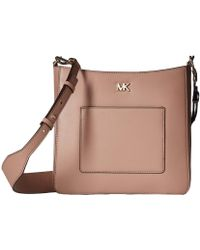 MICHAEL Michael Kors - Gloria Pocket Swing Pack (mushroom) Bags - Lyst