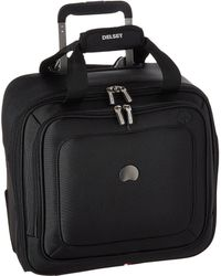 Delsey - Cruise Lite Softside 2-wheel Under-seater (black) Luggage - Lyst