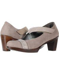 Naot - Abbracci (stone Nubuck/silver Rivets) Women's Shoes - Lyst