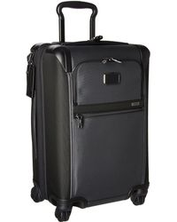 Tumi - Alpha 2 - International Expandable 4 Wheeled Carry-on (pewter) Carry On Luggage - Lyst
