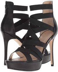 Guess - Labbet (black Fabric) High Heels - Lyst