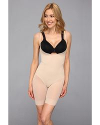 Miraclesuit - Extra Firm Sheer Shaping Open Bust Mid-thigh Slimmer - Lyst