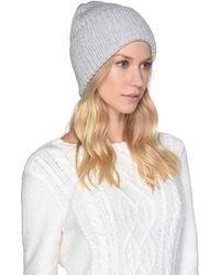 UGG - High Cuff Knit Hat (black Multi Varsity) Caps - Lyst