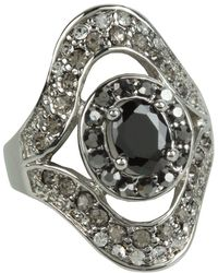 Guess - 56142-21c (stones/silver) Ring - Lyst