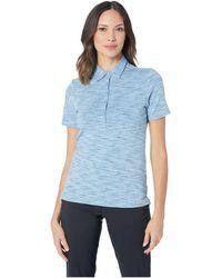 c02b0207babe Skechers - Space Dye Polo (blue) Women s Clothing - Lyst