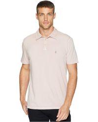 John Varvatos - Pigment Rub Peace Polo K1381u2b (caramel) Men's Clothing - Lyst