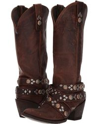 Old Gringo - Caryl (rust) Cowboy Boots - Lyst
