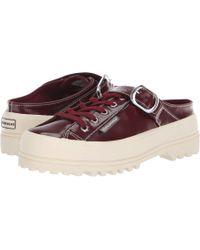 42b04d08b8ba Superga - Alexa Chung - 2279 Alpinapatentleaw Slip-on (ox Blood) Women s  Slip