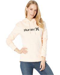 7da983991699 Hurley - One And Only Pullover (terra Blush Heather) Women s Sweatshirt -  Lyst