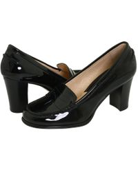 MICHAEL Michael Kors - Bayville Loafer (black Patent) High Heels - Lyst