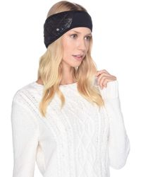 UGG - All Weather Water Resistant Headband (black) Headband - Lyst