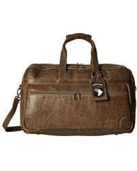 Scully - Squadron Large Duffel W/ 81st Aero Squadron Luggage Tag (brown) Duffel Bags - Lyst
