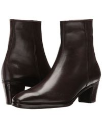 Gravati - Leather Ankle Boot (black) Women's Dress Zip Boots - Lyst