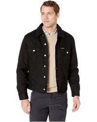 Calvin Klein - Modern Classic Trucker Sherpa (black) Men's Coat - Lyst