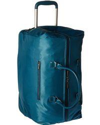 Lipault - Lady Plume Wheeled Weekend Bag (ruby) Weekender/overnight Luggage - Lyst
