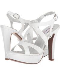 Touch Ups - Queenie (black Patent) Women's Shoes - Lyst