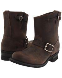 Frye - Engineer 8r (gaucho) Women's Pull-on Boots - Lyst