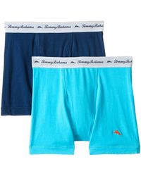 Tommy Bahama - Solid Stretch Cotton Comfort Boxer Briefs 2-pack - Lyst
