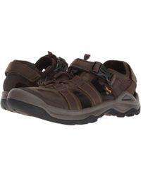 Teva - Omnium 2 Leather (turkish Coffee) Men's Shoes - Lyst