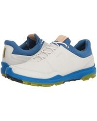 Ecco - Biom Hybrid 3 Gtx (white/black) Men's Golf Shoes - Lyst