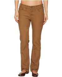 Mountain Khakis - Camber 106 Pants Classic Fit (yellowstone) Women's Casual Pants - Lyst