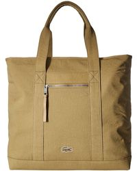 Lacoste - Summer Large Shopper Bag (slate Green) Bags - Lyst