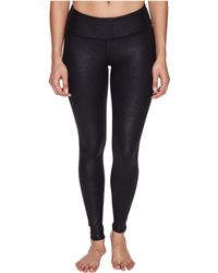 Alo Yoga - Airbrushed Leggings (black Performance Leather) Women's Casual Pants - Lyst