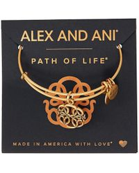 ALEX AND ANI - Path Of Symbols-path Of Life Iv Bangle - Lyst