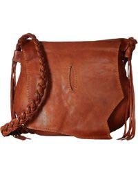 Scully - Ayita Flap Hobo (tan) Hobo Handbags - Lyst