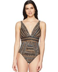 Miraclesuit - Lionessa Odyssey One-piece (brown) Women's Swimsuits One Piece - Lyst