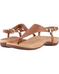 37f15f1d20713b Vionic - Kirra (brown) Women s Sandals - Lyst
