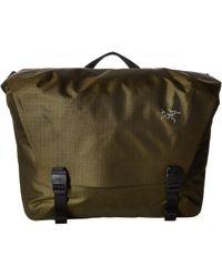 99a0d351754 Lyst - Arc teryx Granville 10l Courier Bag in Green for Men