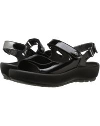 Wolky - Rio (anthracite Metallic) Women's Sandals - Lyst
