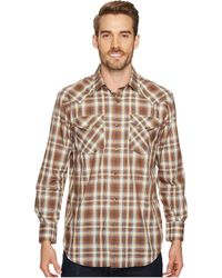 Pendleton - Long Sleeve Frontier (berry/white/grey Plaid) Men's Clothing - Lyst