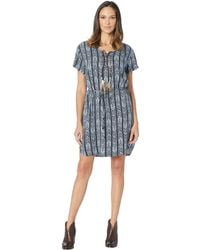 2c2d322b87f3 J.Crew Tall Arrow Print Shift Dress in Blue - Lyst