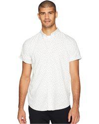 Ben Sherman - Short Sleeve Shadow Spot Print Shirt (snow White) Men's Clothing - Lyst