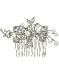 Nina - Ladee (rose Gold/crystal/pearl) Hair Accessories - Lyst