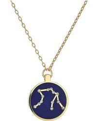Vince Camuto - Aquarius Pendant Necklace (gold/crystal/blue) Necklace - Lyst