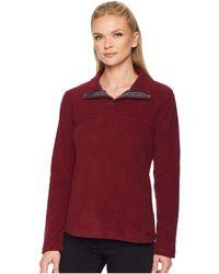 Mountain Khakis - Pop Top Pullover Jacket (raisin) Women's Jacket - Lyst