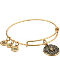ALEX AND ANI - True Direction (rafaelian Gold) Bracelet - Lyst