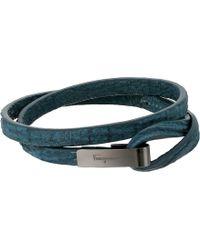 Ferragamo - Shark Double Bracelet - Lyst