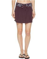 Smartwool - Electra Lake Sport Skirt (bordeaux) Women's Skirt - Lyst