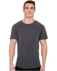 Alternative Apparel - Washed Out Slub Crew (coal) Men's T Shirt - Lyst