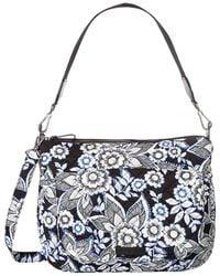 Vera Bradley - Carson Shoulder Bag (snow Lotus) Shoulder Handbags - Lyst 74604982e5dbf
