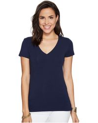 Lilly Pulitzer - Michele Top (true Navy) Women's Clothing - Lyst