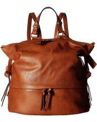 Sole Society - Josah Vegan Backpack (cognac) Backpack Bags - Lyst