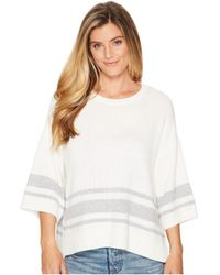 NYDJ - Kimono Sleeve Striped Sweater - Lyst