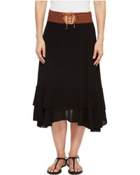 Scully - Charlotte Skirt W/ Belt (black) Women's Skirt - Lyst