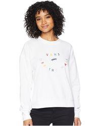 Vans - Confetti Crew (white) Women's Clothing - Lyst